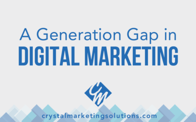 A Generational Gap in Digital Marketing?