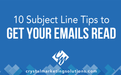 Ten Subject Line Tips to Get Your Emails Read