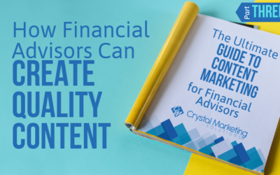 How Financial Advisors Can Create Quality Content