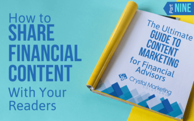 How to Share Financial Content with Your Readers
